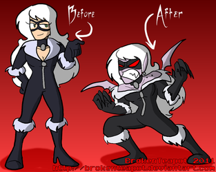 Vampire TF: Black Cat by BrokenTeapot