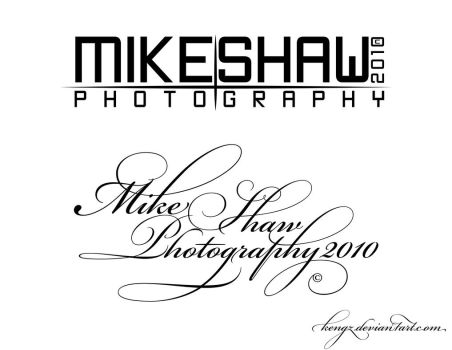 MikeShawPhotography logo by KeNGZ