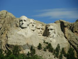 Mount Rushmore by oOToetjeOo