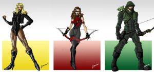 Arrow Trinity by ADL-art