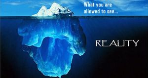 What you are allowed to see vs Reality by uki--uki