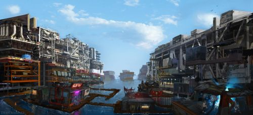 Shoreside Slums by DrD-no