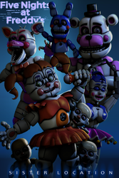 Sister Location Wallpaper by TheMisteryJulien
