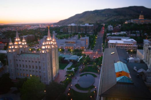 Salt Lake City by chelsaroo