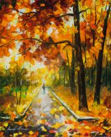 Autumn Tranquility by Leonid Afremov