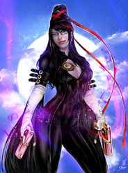 Bayonetta by Forty-Fathoms