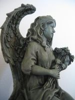 Angel and Roses 3 by lured2stock