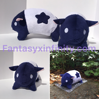Mukumuku Plush by FantasyXInfinity