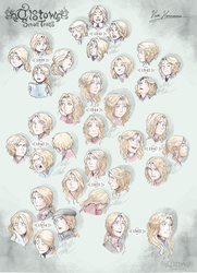 30 years of a blonde person by MikaelHankonen