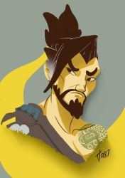 Hanzo Overwatch fanart by TT987
