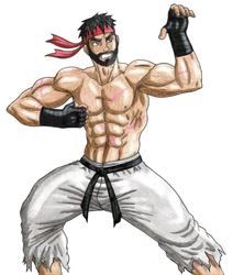 Ryu color by 09tuf