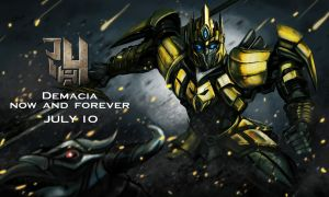LOL skin_King of transformers Jarvan IV by chanseven