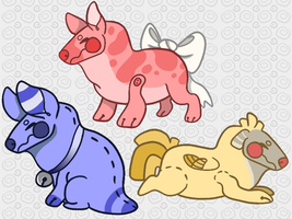 Toypups {CLOSED} by vaporqay