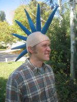 Hubby's Mohawk Hat by craftyshanna