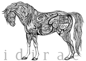 Inked: Mare by idirae