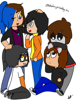 Some Friends [Ocs] by AbrilGoico