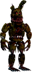 FNAF - Nightmare Springtrap + Video by Christian2099