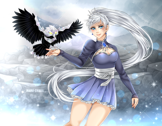 Commission: Weiss' Crystal Grimm by manu-chann