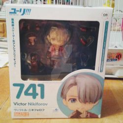 Yuri on Ice Victor nendoroid by HoshiAnimeStuffs