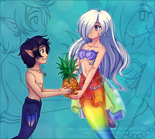 Collab: Pineapple for you! by Lady-Zelda-of-Hyrule