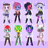 Demon boy adopts [CLOSED] by hello-planet-chan