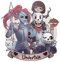. Undertale . by Nahamut