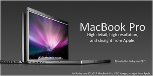 MacBook Pro 2008 Official PNG by pwn247