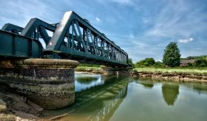 Railway bridge at Rye 3 by forgottenson1