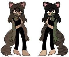 franken girl-cat ota closed by ithelos