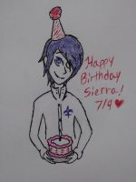 Happy Belated Birthday Sierra! by Revenir-Ghoul