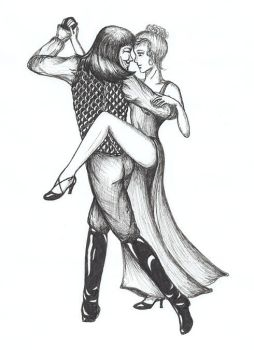 Tango in Black and White by EvelynMusing