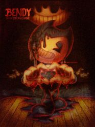 Bendy and the ink machine poster by eliana55226838