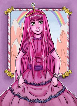 Princess Bubblegum by sketchdoll