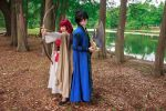 Yona and Hak Battle Pose Akatsuki no Yona Cosplay by firecloak
