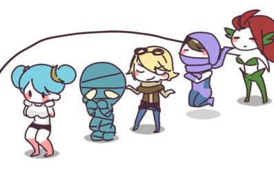 League of Legends:rope skipping gif by MizoreAme