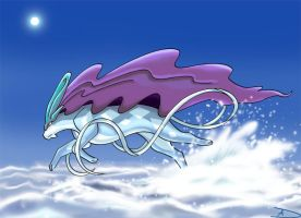 Water Monarch - Suicune