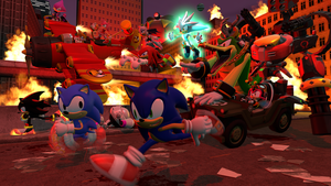 Sonic Forces by Hero-T