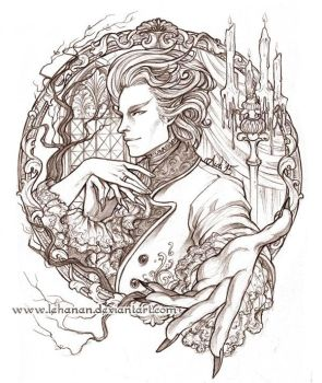 Strange and Norrell - The Gentleman by Lehanan