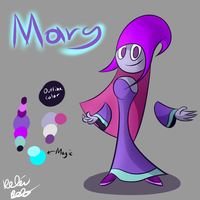 Mary Plotos - Eveston Character Ref (OLD) by GenoTheCreeper