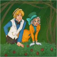 Alister and Mlle. Hatter by Tell-Me-Lies