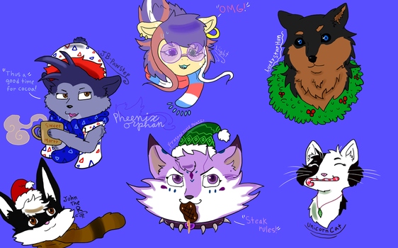 Christmas gifts in one pic!! by Pheenixorphan