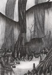 Cypress Swamp by CrSpider