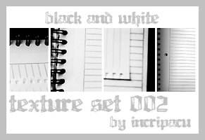 Texture Set 002 by Incripacu