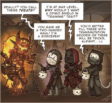 TESO: Trick Or Treat by Isriana