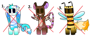 Brushtail adopts batch 3 (CLOSED) by Gameaddict1234