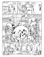 Shorty Manga V.2 Pg. 1 by megawolf77
