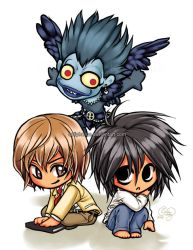 Death Note chibis by solipherus