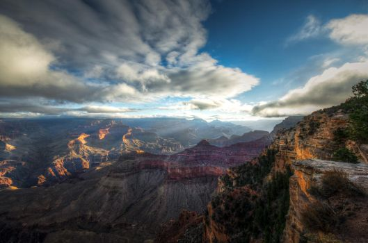 Grand Canyon, the depth by alierturk
