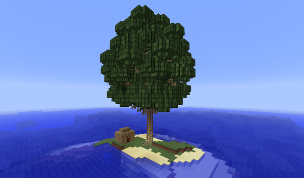 Minecraft: Tropical Melon Tree by MythicalGrim