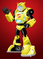 Bumblebee : G1 style by memorypalace